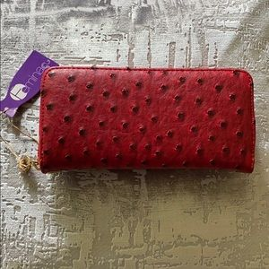 Fashion Wallet Wristlet-Free with purchase of bag!